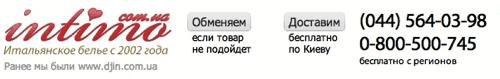 Сайт Интимо для жителя Киева