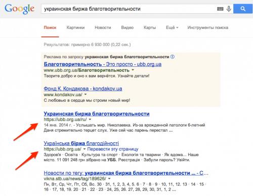 украинская_биржа_благотворительности_-_Поиск_в_Google-2
