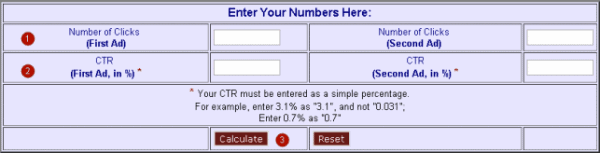 Калькулятор для сплит тестов