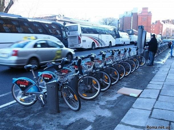 Аренда велосипедов в Дублине