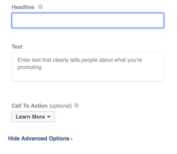 Создание рекламы на Фейсбуке