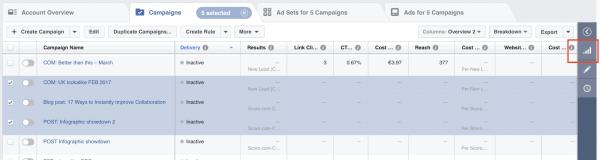 Отчёты о рекламных кампаниях
